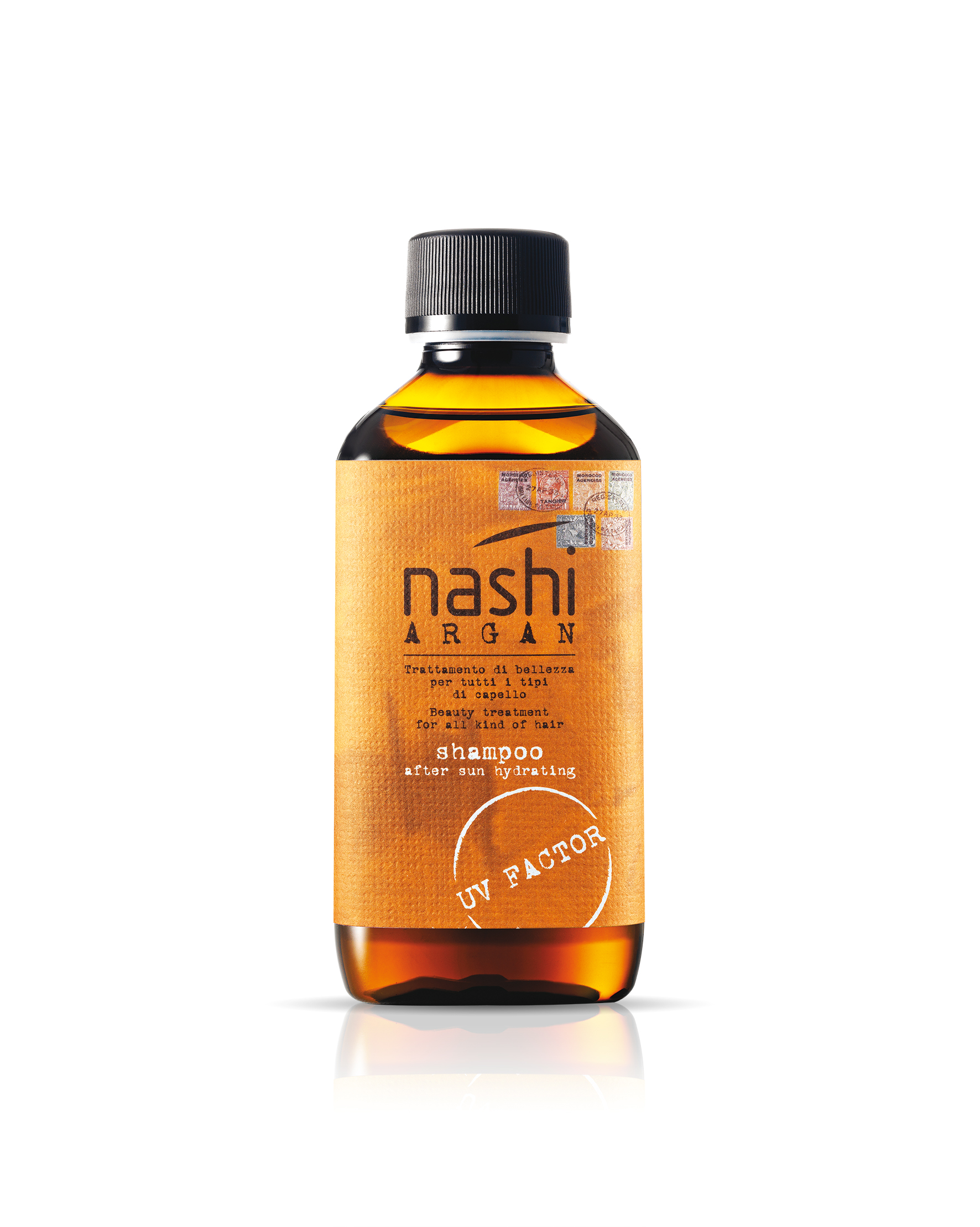 NASHI ARGAN Sun Shampoo After Sun Hydrating_200 ml copia