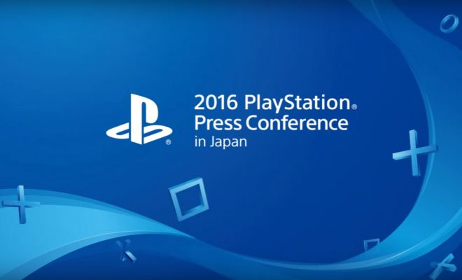 Playstation press conference Japan 2016