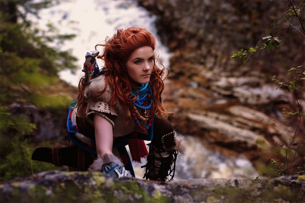Aloy Costume Cosplay Carnevale 2017