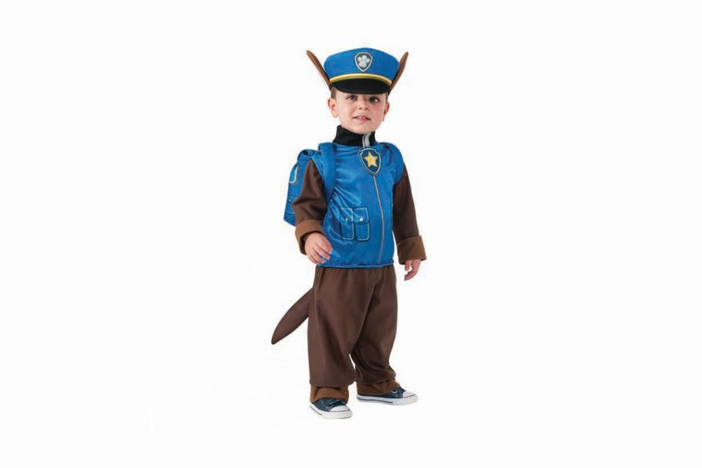costume carnevale bambini 2017 chase paw patrol