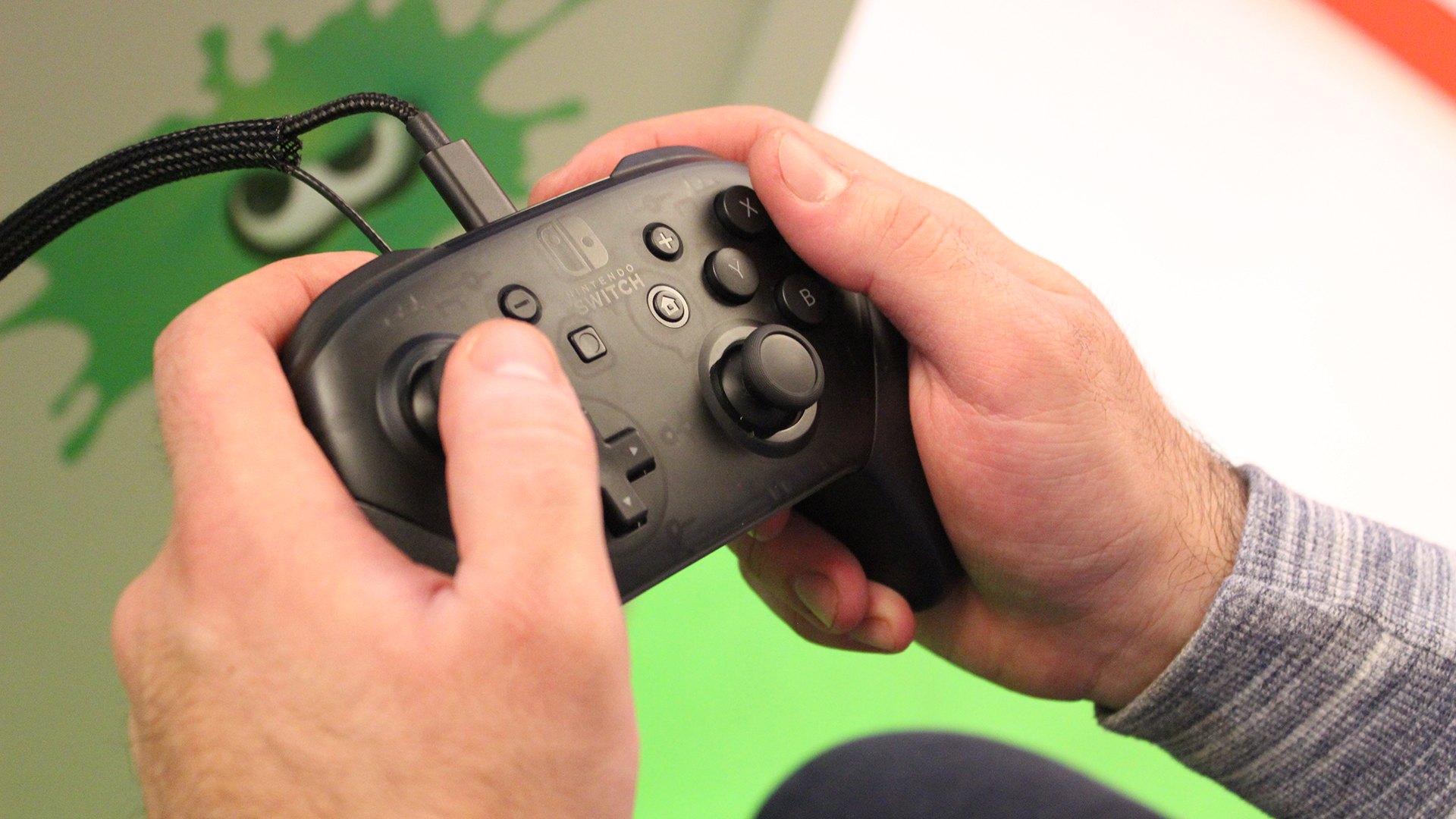review nintendo switch pro controller