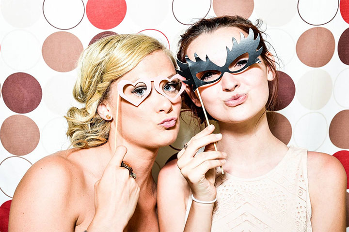 intrattenimento matrimonio photo booth