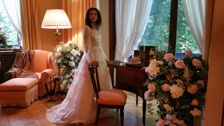 Vogue Sposa on Stage acconciatura